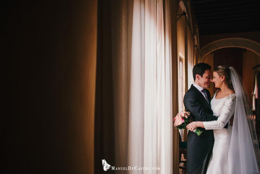 Boda en el Palacio de los Palma, Écija. Sevilla. Fotógrafo de bodas en Écija